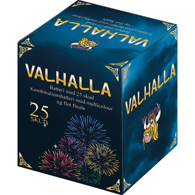 Valhalla, 25 skuds batteri